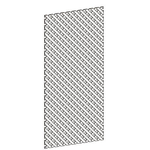 Mobilier lemn masiv - Panouri grilaj pentru ramă Venetia-1