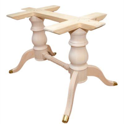 Mobilier lemn masiv - Picior masă dublu (maxim 100X220cm) Mobilier-4