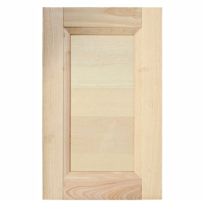 Mobilier lemn masiv - Ușă plină dreaptă Nevopsite-1
