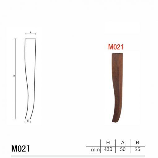 Mobilier lemn masiv - Picioare mobilier M021 Picioare mobilier
