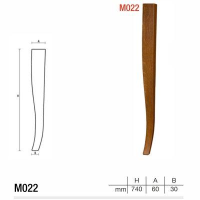 Mobilier lemn masiv - Picioare mobilier M022 Picioare mobilier