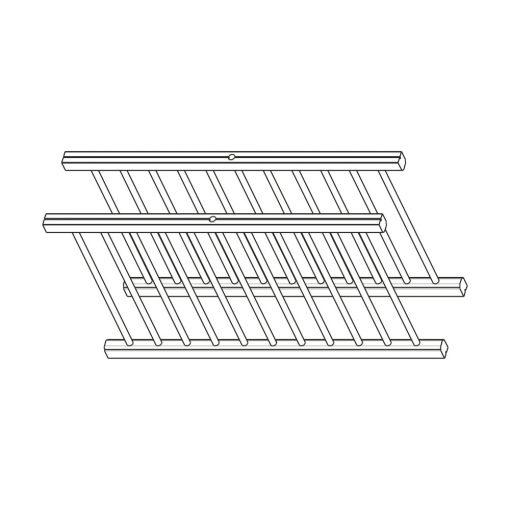 Mobilier lemn masiv - Suport farfurii (pereche) Sorrento-5